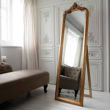 Tall Mirrors For Bedroom Mirrors Incredible Two Tone Wall Idea Feat Traditional Bedroom