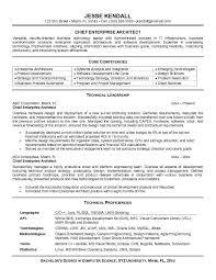 Best Resume Program Amazing Sample Of Enterprise Architect Resume