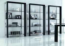 contemporary bookcases with glass doors large size of bookcase view in gallery creative give this bookshelf