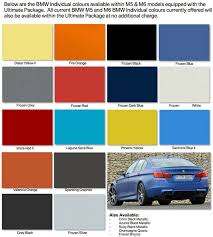 Bmw Individual Colour Chart The 5 Most Exciting Colors On A Bmw 4 Series Gran Coupe