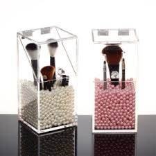 brush holder beads. acrylic makeup brushes holder real technique brush storage with pearl beads l