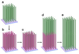 gao research group applied nanomaterials and surface science above figure schematic process for synthesizing a two layer assembly of zno nanowire arrays on tco a growing the first layer zno nanowire array on seeded