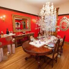 red dining room colors. Tamara Tunie\u0027s Red Dining Room Colors