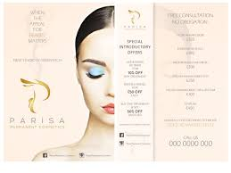Permanent Design Flyer Design By Leonfx For Semi Permanent Make Up Flyer