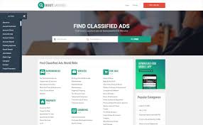 website advertisement template bootclassified classifieds websites html theme template