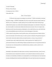 capital punishment essay sanmaung caroline sanmaung professor most popular documents for rs 361