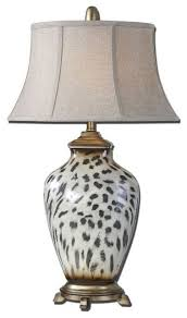 Uttermost Malawi Cheetah Print Table Lamp Traditional Table