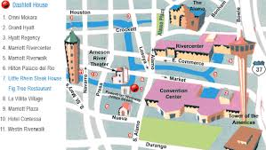 dashiell house, private events, 511 villita street, san antonio San Antonio Hotels On Riverwalk Map dashiell house location map of hotels on riverwalk san antonio