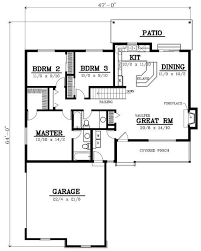 bungalow floor plans