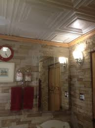 ceiling basement corrugated metalceiling ideas american tin fanciful
