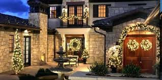 outdoor wreaths for windows this breathtaking outdoor lighting holiday display uses multiple wreaths in this outdoor wreaths