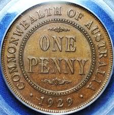 1929 Australian Penny Main Page Tdk Apdc Resource Website