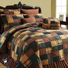 Rustic Country Quilts – co-nnect.me & ... Rustic Country Quilt Sets Navy Blue Brown Plaid Primitive Patchwork  Rustic Country Home Quilt Bedding Set ... Adamdwight.com