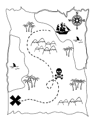 Free Printable Pirate Map A Fun
