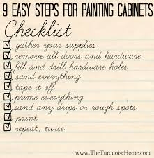 9 easy steps for painting cabinets painting cabinets can be overwhelming but doesn
