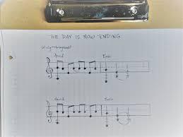 Draw Sheet Music On Plain Graph Paper The Lyric Writers