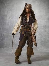 جاك سبارو جوني ديب القراصنة العملاق الحرير المشارك اللوحة الزخرفية 24x36inch