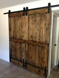 knotty alder double sliding barn door sliding front door display case exterior sliding door design sliding
