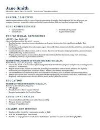 Resume Career Objective Statement College Student Resume Objective Examples gentileforda 16
