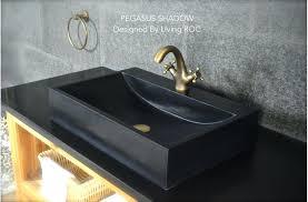 black bathroom sink faucet black granite bathroom sink faucet hole shadow regarding vessel designs modern black bathroom sink faucet