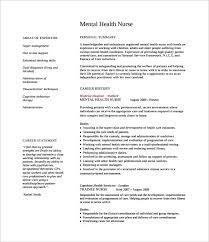 Sample Nursing Cv 7 Documents In Pdf Word