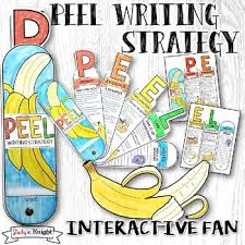 peel paragraph and essay writing strategy interactive fan by  peel paragraph and essay writing strategy interactive fan