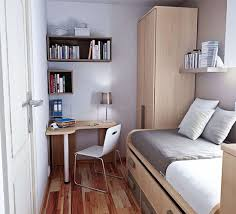Storage For Small Bedrooms Bedroom Modern Small Bedroom Design With Textured Wood Floor And