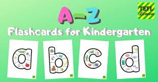 Free Alphabet Flash Cards Alphabet Flashcards For Kindergarten Tefl Lemon Free Esl