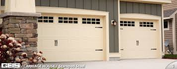 carriage garage doorStamped Steel  Carriage House  GEIS Garage Doors  Milwaukee