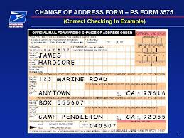 how to change your address usps
