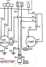 air conditioner wiring diagram 10 examples of ac compressor wiring Heating And Air Conditioning Wiring Diagrams ac compressor wiring diagram if an electric motor that uses a starting or run capacitor won york heating and air conditioning wiring diagrams