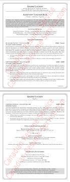 Cover Letter Teaching Assistant Resume Example Teacher Sample