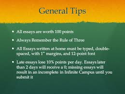 Writing Essays in Literature Classes   Study Guides and Strategies