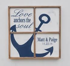for personalized nautical signs