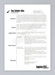 Resume Template Templates For Word 2003 Inside Free Download 81
