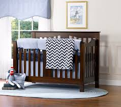 chevron solid color crib bedding
