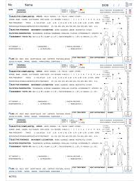 Chiropractic Soap Note Template Soap Note Notes Template