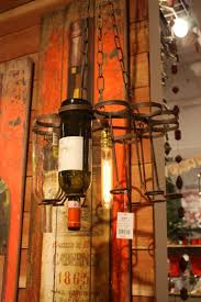 chic bottle chandelier with wine rack chandelier and drum chandelier