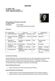 Resume for Assistant Professor - http://resumesdesign.com/resume-for- assistant-professor/ | FREE RESUME SAMPLE | Pinterest | Professor and Free  resume ...
