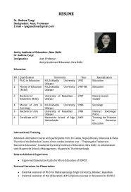 Resume for Assistant Professor - http://resumesdesign.com/resume-for- assistant-professor/ | FREE RESUME SAMPLE | Pinterest | Professor and Free  resume ...