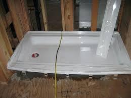 kohler shower pan large size of pans x 60 panels with seat walls trendy kohler cast kohler shower pan