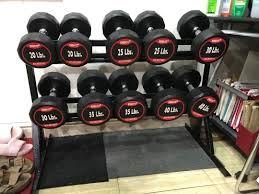 Gym equipments set, Sports Equipment, Exercise & Fitness, Cardio & Fitness  Machines on Carousell