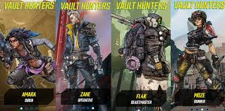 Borderlands 3 Damage Chart Heres The Best Borderlands 3 Character For Solo Players