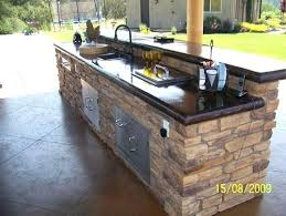 countertops for outdoor kitchens outdoor kitchen project diy concrete countertops outdoor kitchen