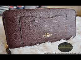... large white new arrivals coach oxblood wallet 7be6f 25570 ...