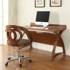 walnut office desks. image of the jual curve pc6021300wal large office desk in walnut desks