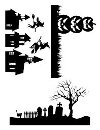 Halloween Template Diy Mason Jar Luminaries Free Printable Template Party Ideas