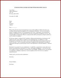 Unsolicited Letter 18 Application Example Sendletters Of Fitted