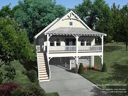 Elevated Raised Piling And Stilt House Plans Coastal Home Plans Elevated Home Plans