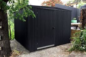 heavy duty hooped shed corrugated monument